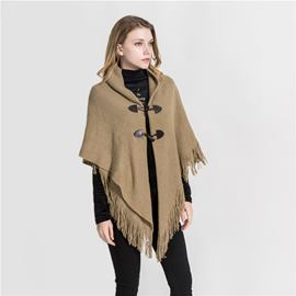 Ericdress Shawl Tassel Plain Scarves