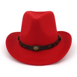 Ericdress Cowboy Hat Hemming Plain Spring Hats