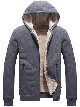 Ericdress Zipper Standard Hooded Casual Men's Down Jacket