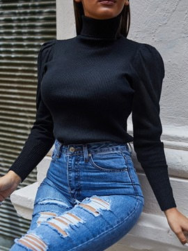 Ericdress Regular Turtleneck Sweater