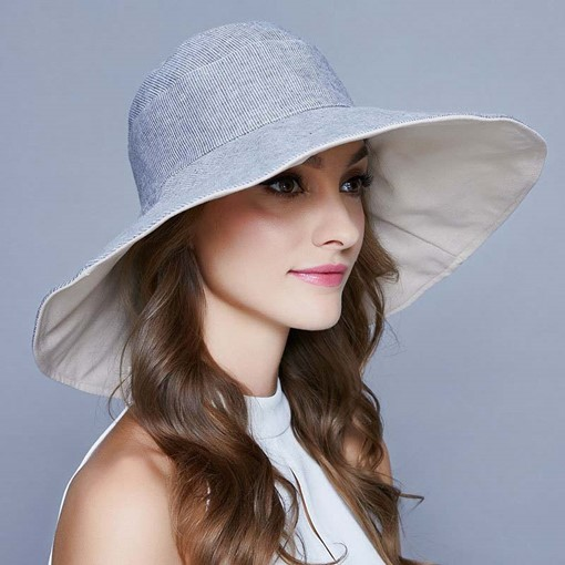 Ericdress Linen Reversible Summer Plain Hats