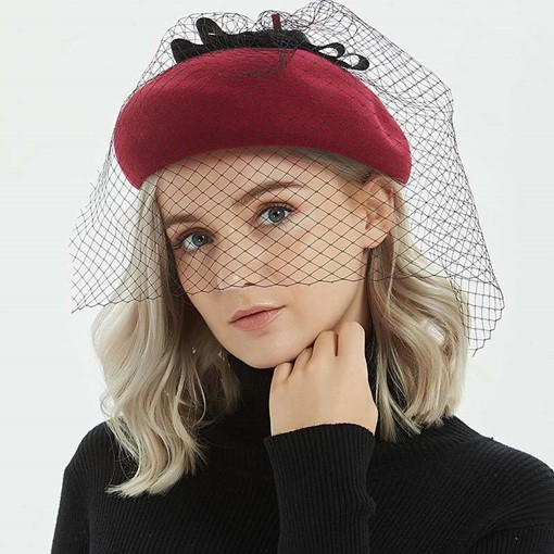Ericdress Sweet Wool Spring Plain Hats