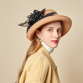 Ericdress Sweet Wool Blends Winter Plain Hats