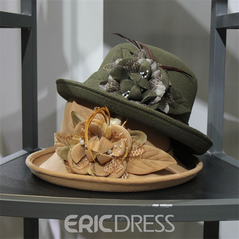 Ericdress 3D British Plain Winter Hats