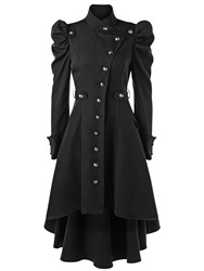 Ericdress Stand Collar Single-Breasted Long Fashion Womens Trench Coat