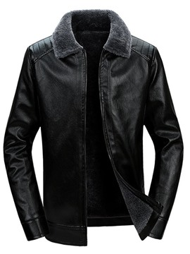 Ericdress Zipper Lapel Men's Jacket