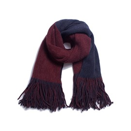 Ericdress Reversible Casual Color Block Scarves