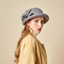 Ericdress Sweet Wool Blends Plain Hats