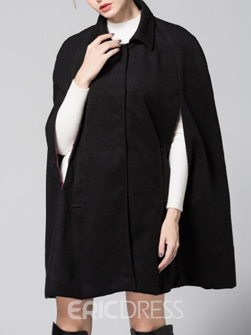 Ericdress Casual Polyester Plain Women'sCape