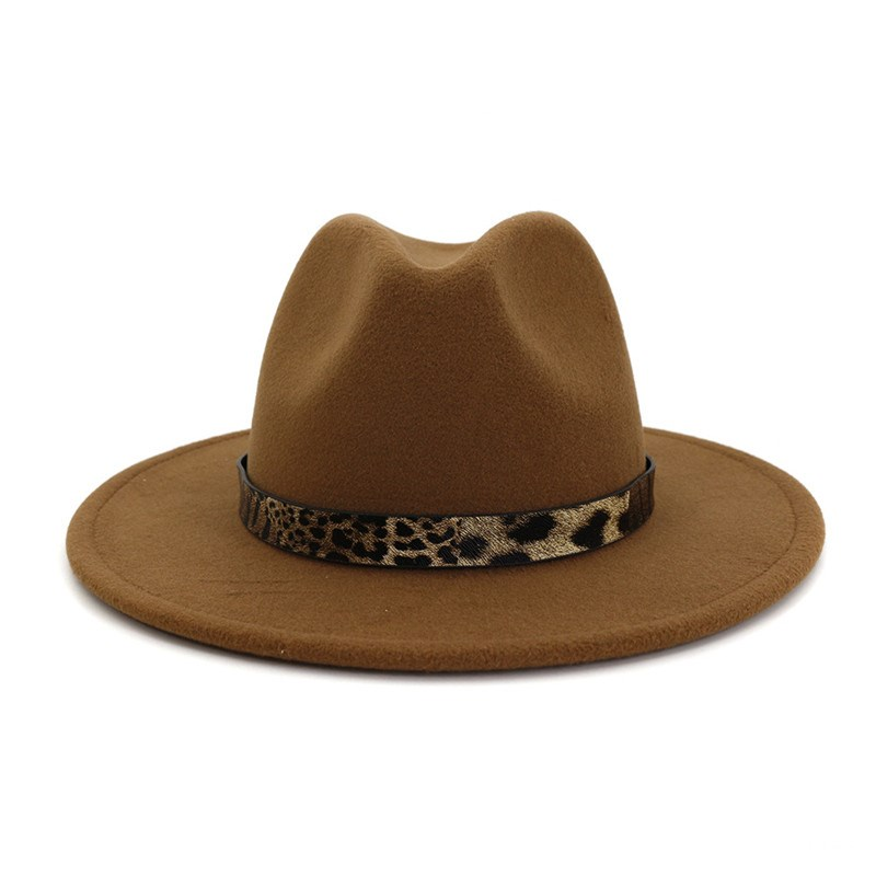 Ericdress Fedora Hat Print Leopard Winter Hats