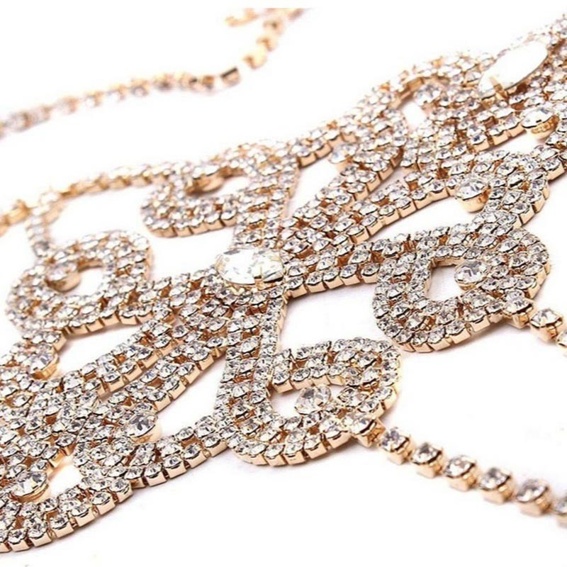 Ericdress Rhinestone Body Chain Necklaces