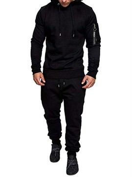 Ericdress Casual Men's Hoodie Outfit