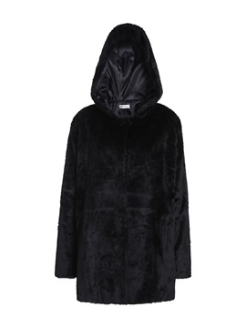 Ericdress Straight Winter Mid-Length Women's Overcoat