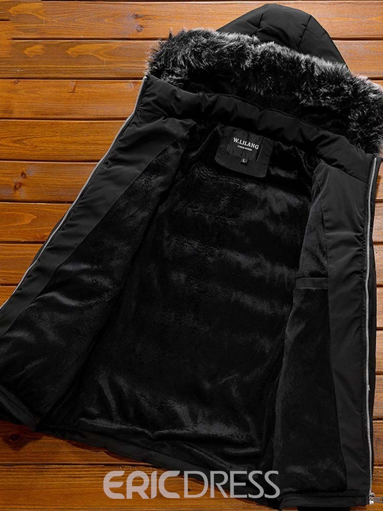 Ericdress Mid-Length Casual Slim Men's Down Jacket