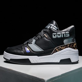 Ericdress Lace-Up Mid-Cut Upper Sports Mesh Men's Sneakers
