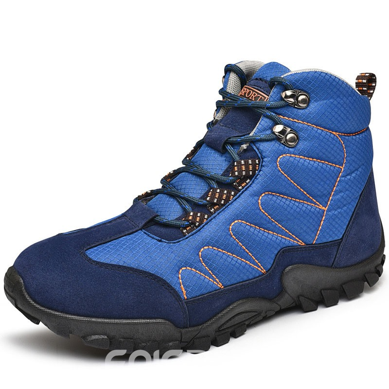 Ericdress Round Toe Flat With Lace-Up Front Men's Snow Boots