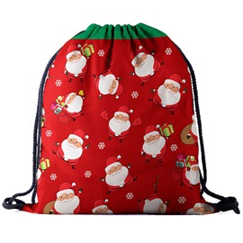 Ericdress Christmas Oxford Print Backpacks