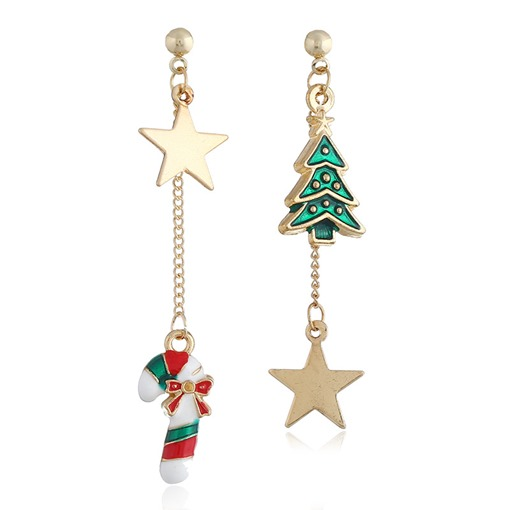 Ericdress Christmas Alloy Sweet Prom Earrings