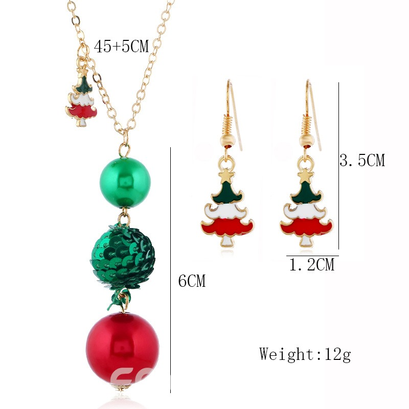 Ericdress Christmas Sweet E-Plating Gift Jewelry Sets