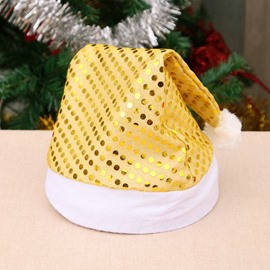 Ericdress Cloth Decoration Sequin Christmas Hat