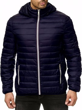 Ericdress Hooded Standard Casual Slim Men's Down Jacket