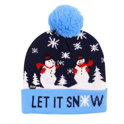 Ericdress Christmas European Cartoon Knitted Hat