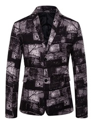 Ericdress Casual Single-Breasted Button Mens Leisure Blazers