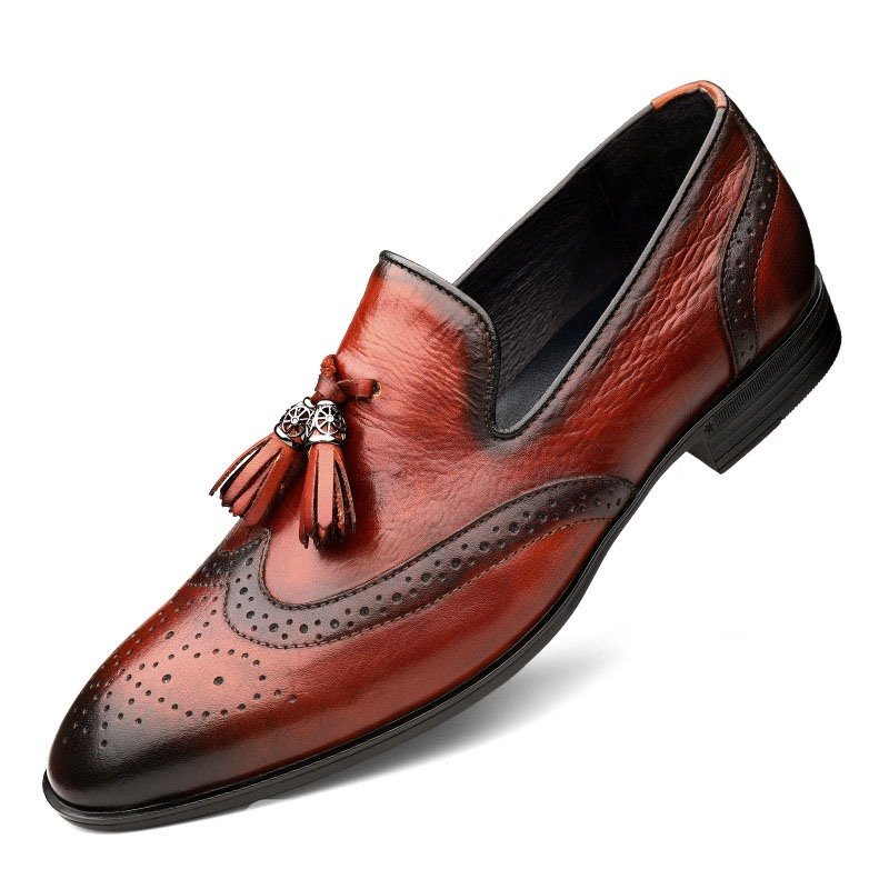 Ericdress Slip-On Customized Round Toe Vintage Men's Oxfords