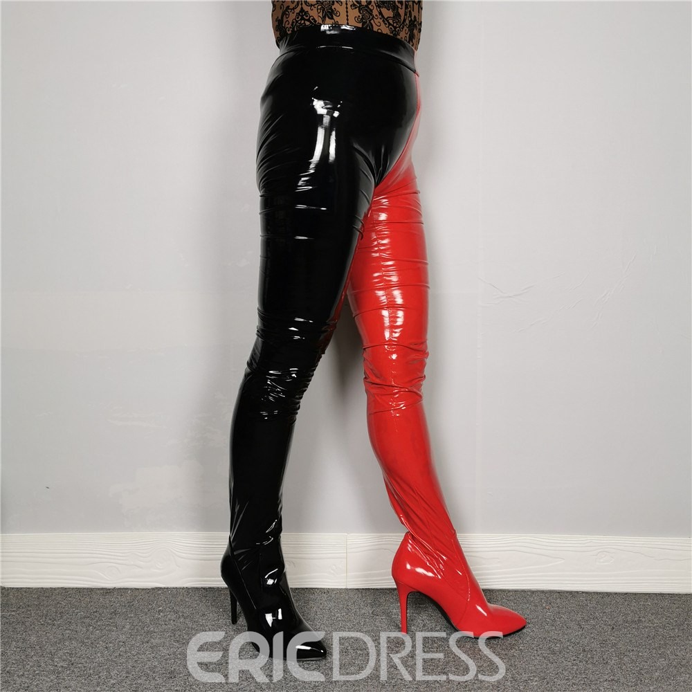 Ericdress Pointed Toe Slip-On Fashion Over-the-Knee Boots
