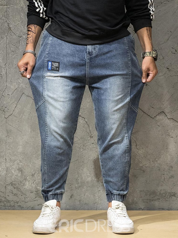 Ericdress Pocket Japanese Zipper Men's Jeans