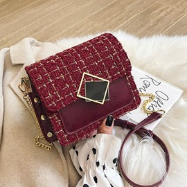 Ericdress Chain Rectangle Elegant Crossbody Bags