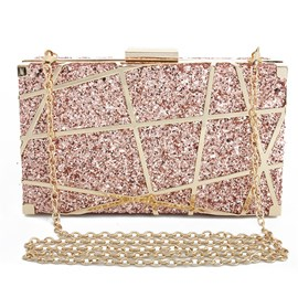 Ericdress Banquet Sequins Rectangle Clutches