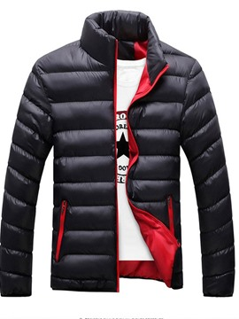 Ericdress Collar Standard Zipper Casual Men's Down Jacket