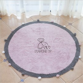 Ericdress Household Bathroom Common Water Absorption Animal Non-Slip Mat