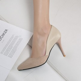 Ericdress Stiletto Heel Pointed Toe Slip-On Pumps