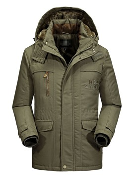 Ericdress Zipper Casual Men's Down Jacket