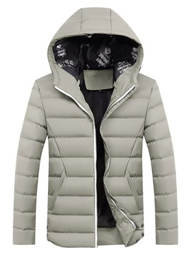Ericdress Standard Plain European Zipper Men's Down Jacket
