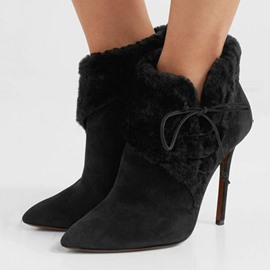 Ericdress Stiletto Heel Pointed Toe Customized Ankle Boots