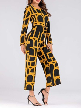 Ericdress Casual Bellbottoms Slim Jumpsuit