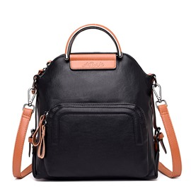 Ericdress Color Block PU Backpacks