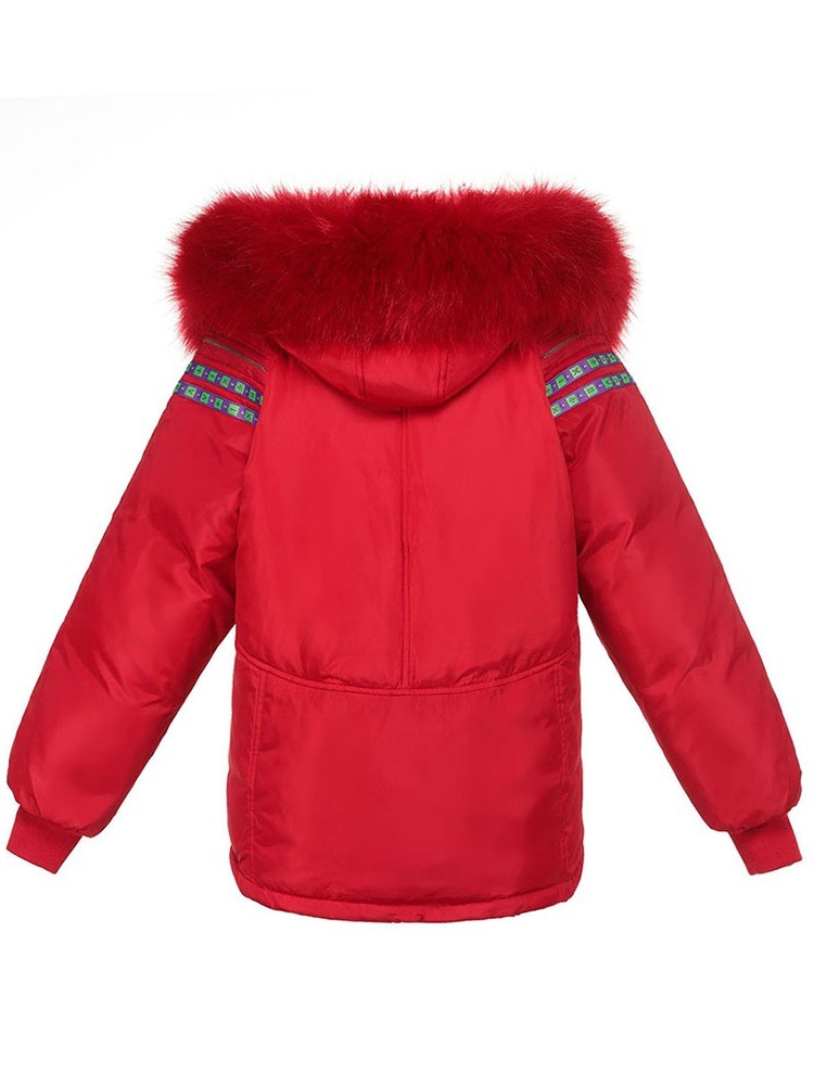 Ericdress Thick Straight Mid-Length Women's Cotton Padded Jacket