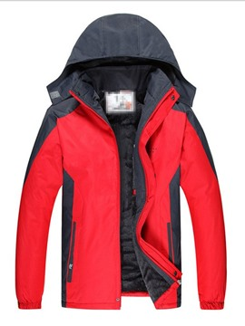 Ericdress Pocket Style Hooded Zipper Casual Men's Down Jacket