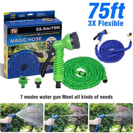 Ericdress Expandable Garden Magic Flexible Water Plastic Hoses