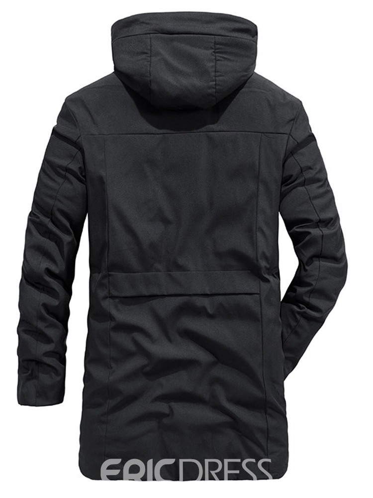 Ericdress Color Block Hooded Style Casual Men's Down Jacket