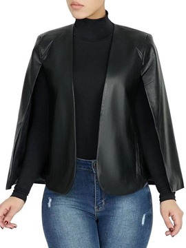 Ericdress Standard Faux Leather Loose Women's PU Jacket