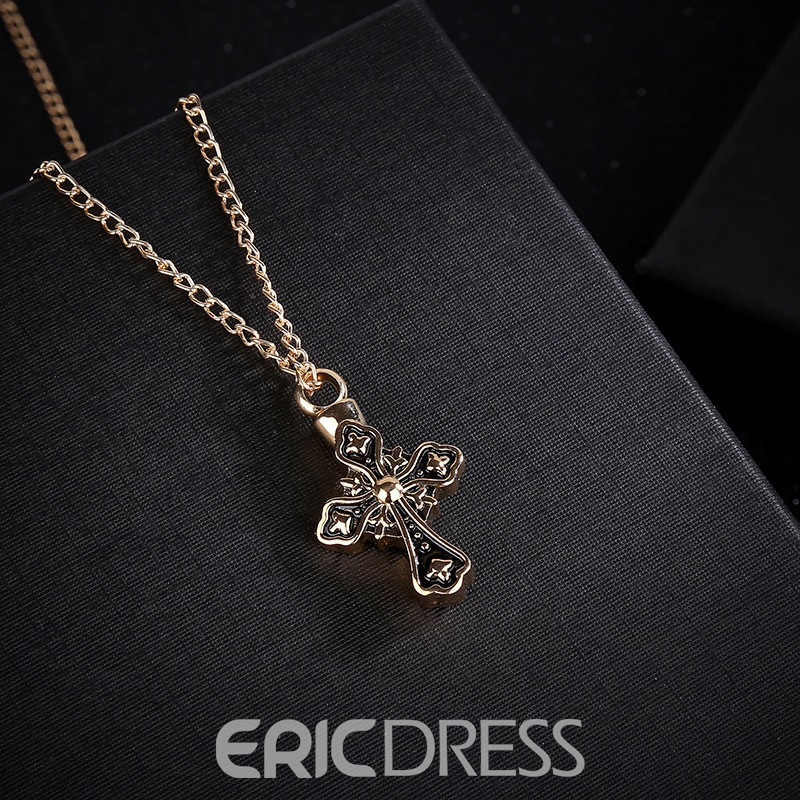 Ericdress Cross Vintage Party Link Chain Necklaces