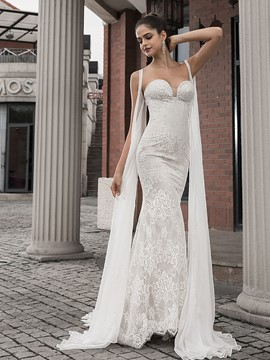 Ericdress Mermaid Sweetheart Church Wedding Dress 2020
