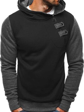 Ericdress Color Block Casual Men's Hoodies