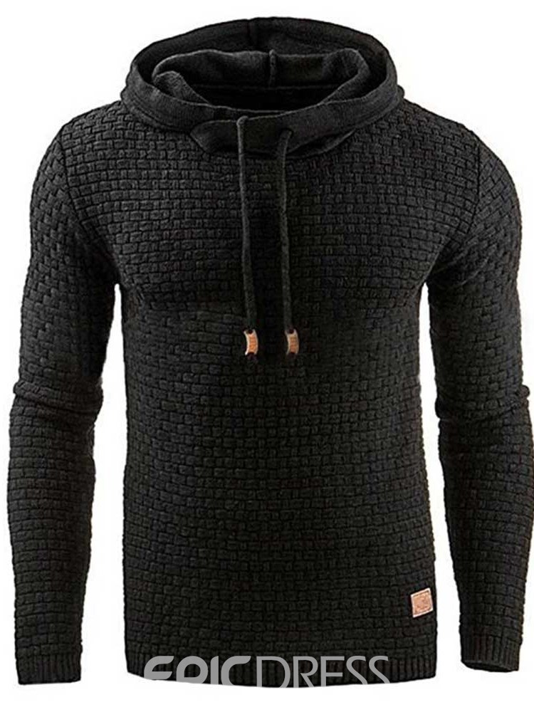 Ericdress Plain Color Style Men's Hoodies