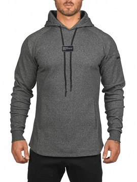 Ericdress Plain Loose Casual Men's Hoodies